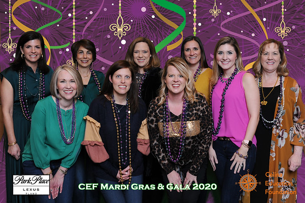 Celina Education Fundraiser Mardi Gras