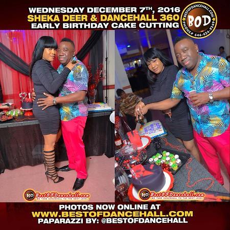 12-7-2016-BRONX-Sheka Deer And Dancehall 360 Cake Cutting