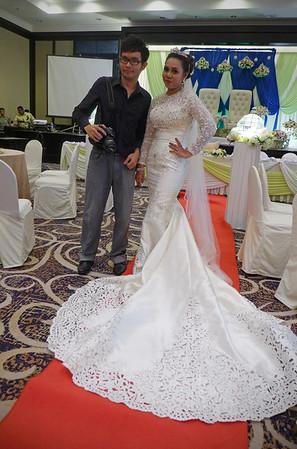 Malay Wedding self Portrait