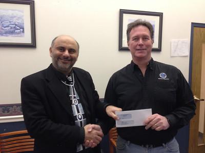 2012-11-26 Hicham receiving furniture donations