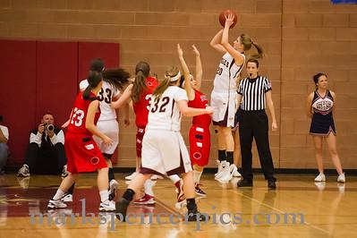 Basketball Girls SHS vs MapleMt 1-31-2012
