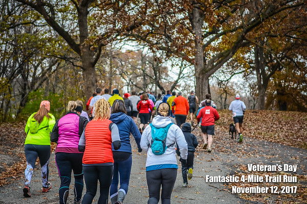Veteran's Day Trail Run - 2017