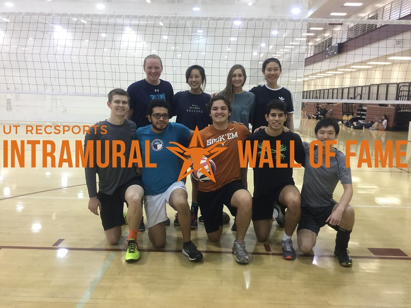 Spring 2018 Volleyball Coed A Champion Sterling Squad