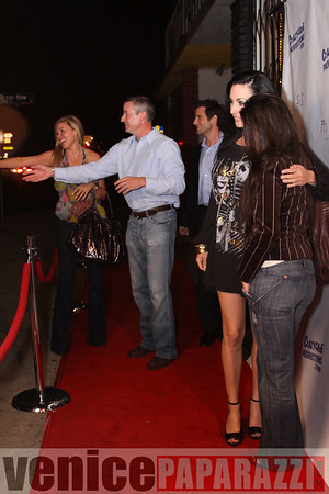 """11.13.08 Crazysane Productions.  Screening of """"Paul, Playboy of the World"""".  Red Carpet and photos by Venice Paparazzi."""