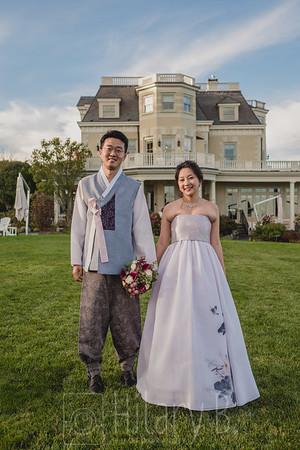 Oh Myo & Yoon Gu Kim Elopement, The Chanler, Newport RI