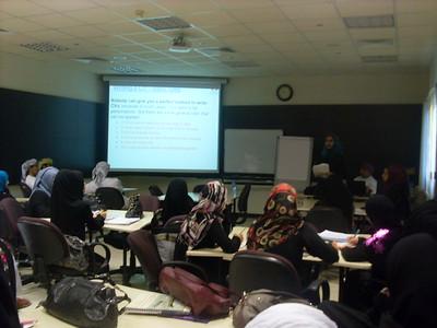 Bank Sohar interview skills workshop 2011