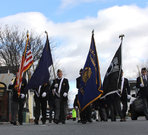 Veterans Day Parade and Ceremony Woodstock