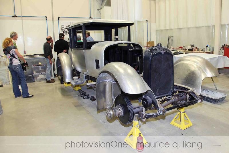 The first Duesenberg every built, undergoing restoration.