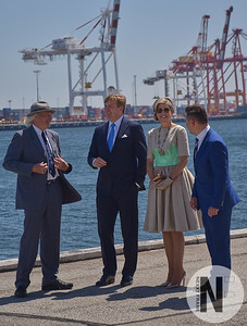 Dutch King and Queen welcomed to Fremantle Maritime Museum October 2016