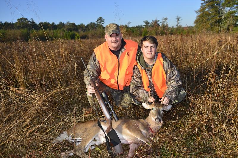Joseph's First Deer with Steve
