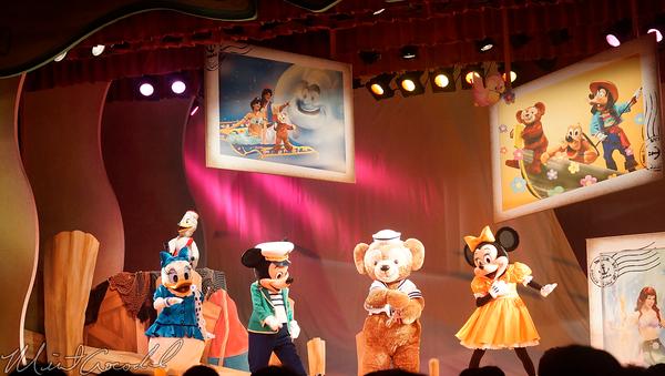 Tokyo Disney Resort, Tokyo Disneyland, Tokyo DisneySea, Tokyo Disney Sea, Cape Cod, Duffy