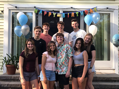 2021_05_15 Marks surprise 18th birthday party