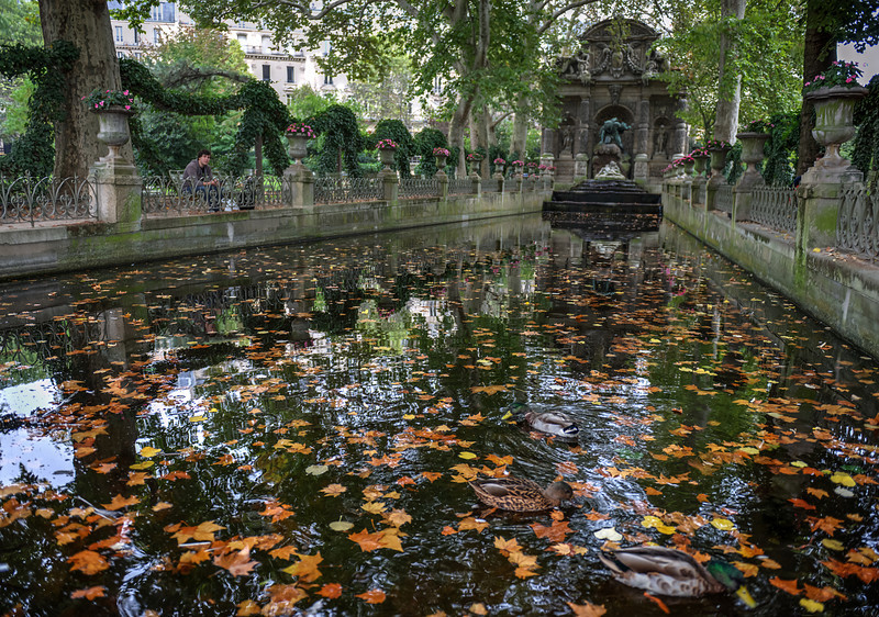 At Luxembourg Garden