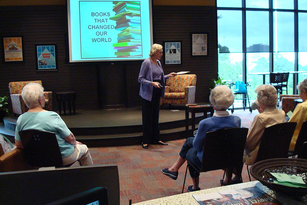 Learn @ the Plaza-Books that Changed the World w/ Margaret Truly May 5, 2009