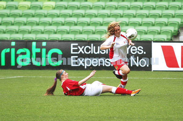 Girls With Heart 2013 at AAMI Park
