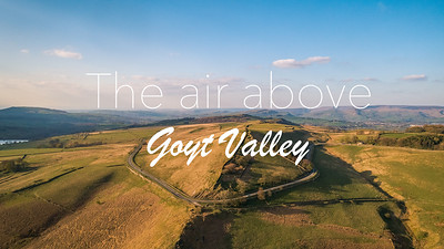 The air above Goyt Valley