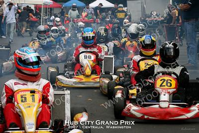 2007 Hub City Grand Prix -- Kart - Saturday Aug-25