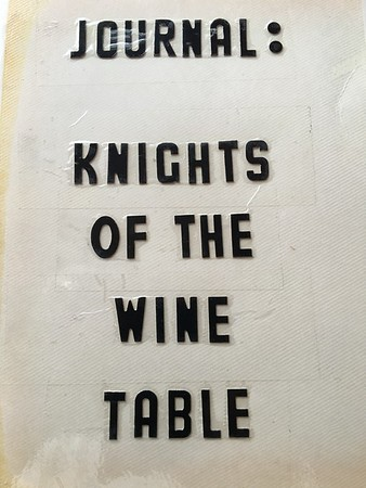KNIGHTS OF THE WINE TABLE (THE WINE SWINE) OCTOBER 1989 TO DECEMBER 2000