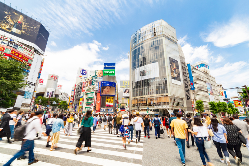 Shibuya Crossing. Editorial credit: Osugi / Shutterstock.com