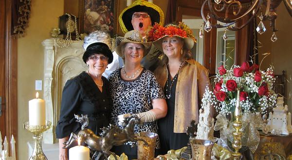 BBH Gaudy Hat Girlfriends Gala