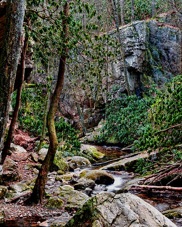 Blue Hole Falls - Carter Co Tennessee
