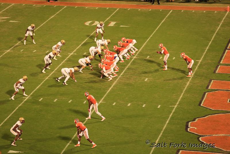 DeShaun Watson at Quarterback - Go Tigers!  Clemson University