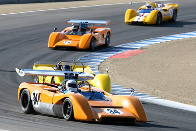 2008 Monterey Historics - 1966-1974 Historic Can-Am - on track