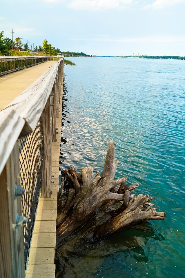 Boardwalk along St. Clair River