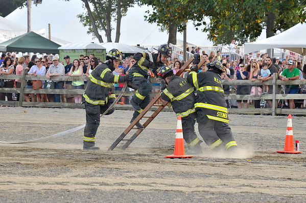 Fire Fighter Competition - Monmouth County Fair July '12