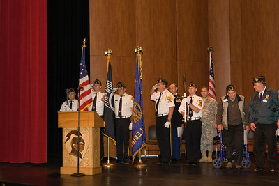Veteran's Day program STMA