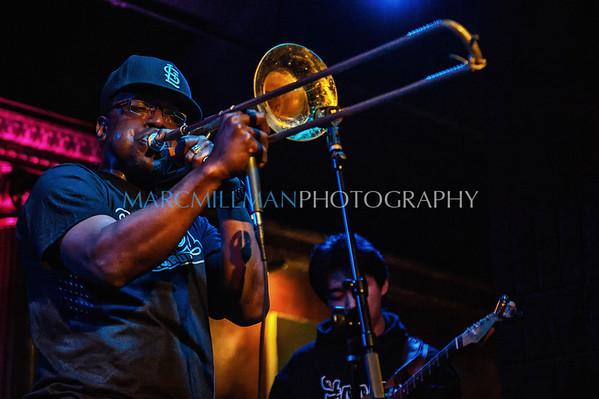 Stooges Brass Band @ Cutting Room (Fri 1/11/13)