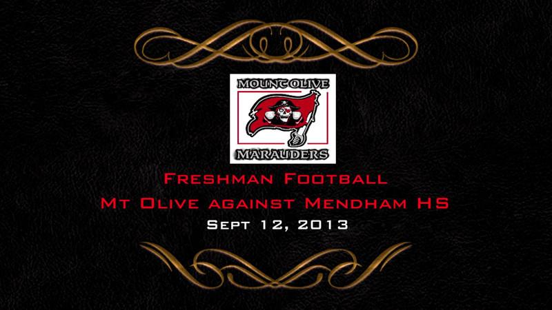 Mt Olive Football VS Mendham HS