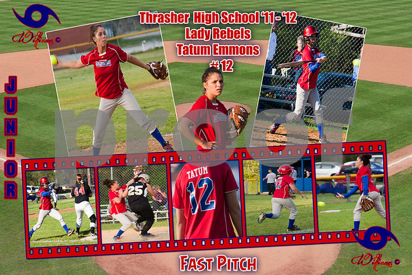 Thrasher High School Softball (Fast Pitch) Posters