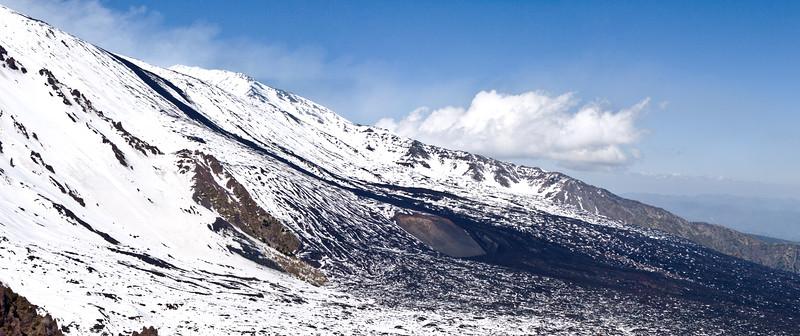 Valle De Bove Lava Flow January 14th 2011
