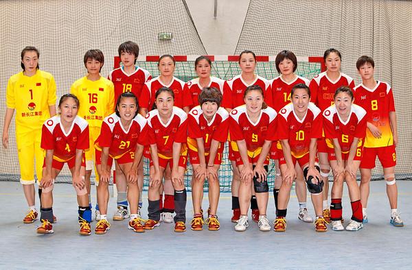 Handball - Fleury/Chine - photos officielles