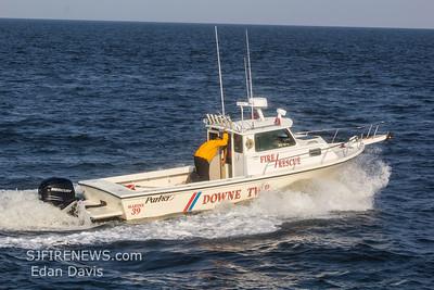 07/29/2019, Swift Water Rescue Training, Downe Twp. Delaware Bay, Miah Maull Shoal Lighthouse