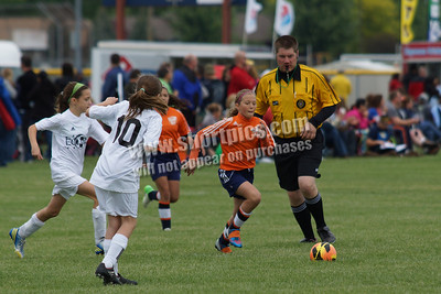 2013 U11 Orange PSC Girls