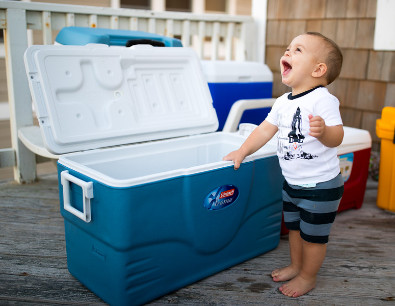 Brady Laughing at the Cooler.jpg