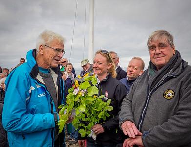 2019 Jørgen Ring DS Æresnål og standerhejsning og havnefogedskifte