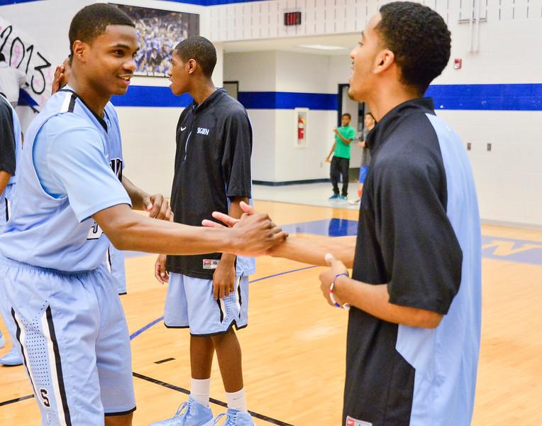 Basketball Varsity vs  Mansfield Seguin 11-11-13-8