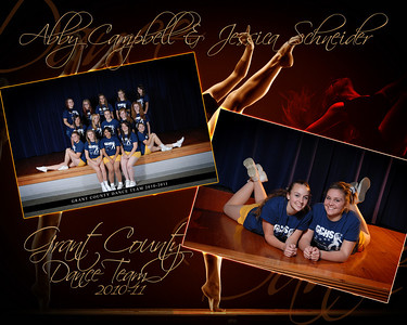 Grant County Dance Team 2010-11