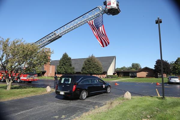 John  MAC McCastland Funeral Oct 2019