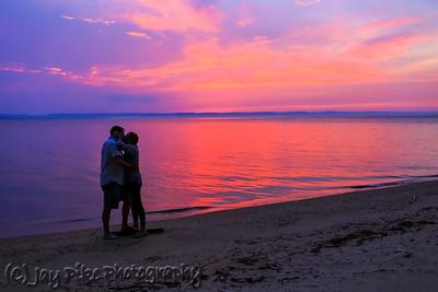 June 2, 2020 - Britt and Brent on the Beach