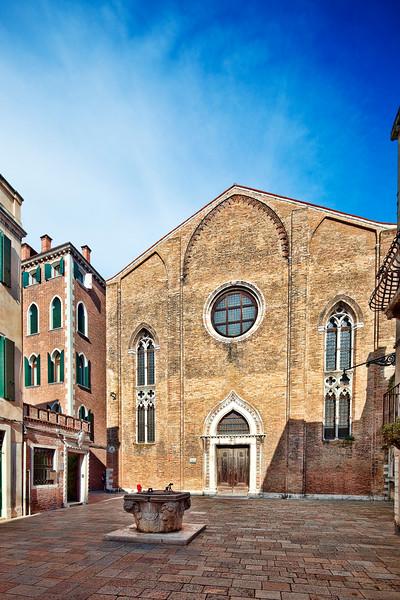 Saint George Anglican church, Dorsoduro, Venice, Italy