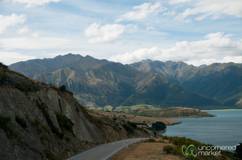 Road Trip at Lake Hawea - Queenstown, New Zealand