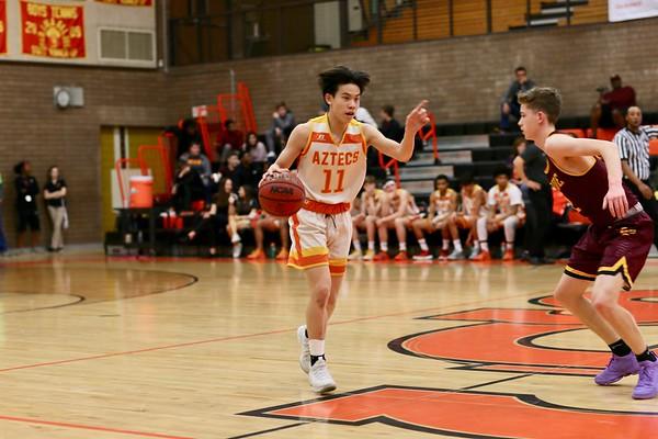 JV Basketball Last home game