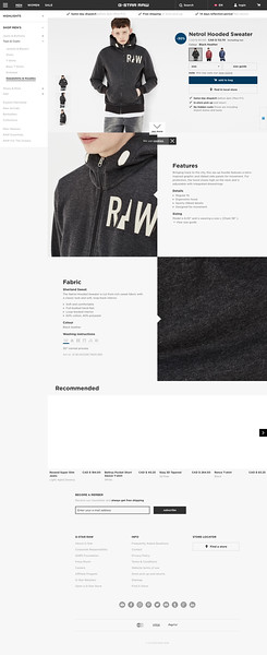 G-Star RAW | Men | Sweatshirts & Hoodies | Netrol Hooded Sweater , Black Heather.jpeg