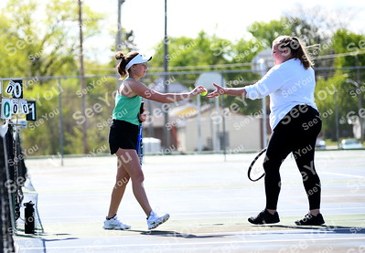 Webster City @ St. Edmond Girls Tennis 2019