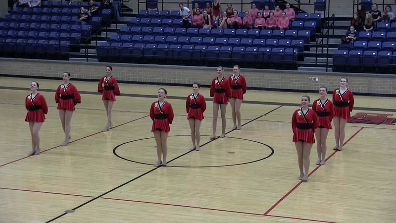 Mar 21 Competition Belles Pom Video