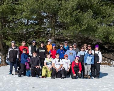 2016-Snowshoeing